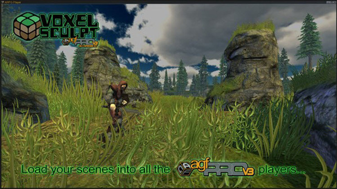 Axis Game Factory's AGFPRO Voxel Sculpt DLC Screenshot 6