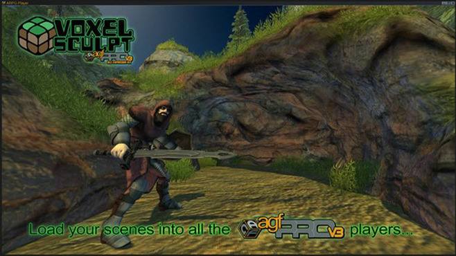 Axis Game Factory's AGFPRO Voxel Sculpt DLC Screenshot 7