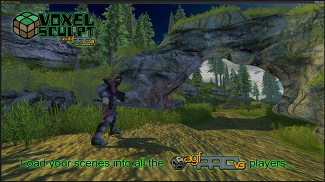 Axis Game Factory's AGFPRO Voxel Sculpt DLC Screenshot 8