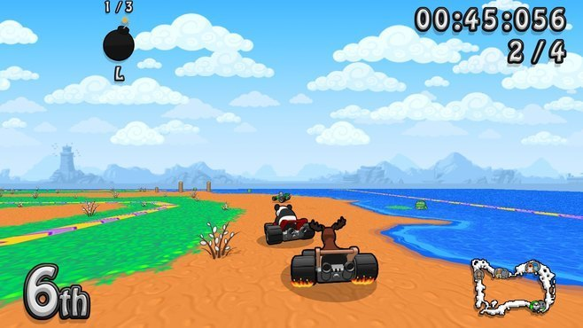 Wacky Wheels HD Screenshot 2
