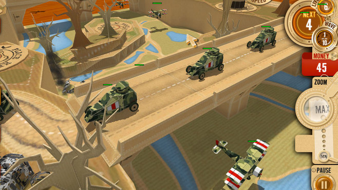 War in a Box: Paper Tanks Screenshot 3