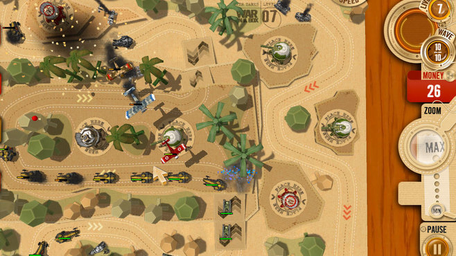 War in a Box: Paper Tanks Screenshot 4