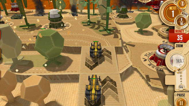 War in a Box: Paper Tanks Screenshot 5
