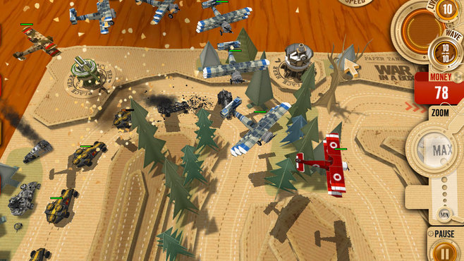 War in a Box: Paper Tanks Screenshot 6