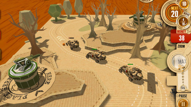 War in a Box: Paper Tanks Screenshot 8