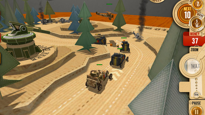 War in a Box: Paper Tanks Screenshot 10