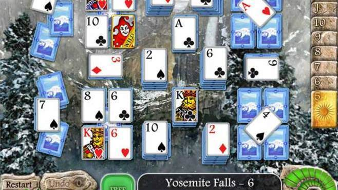 Waterscape Solitaire: American Falls Screenshot 1