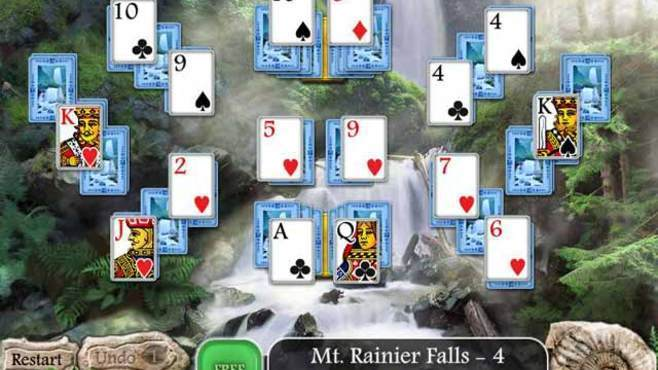Waterscape Solitaire: American Falls Screenshot 3