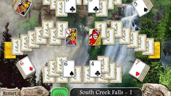 Waterscape Solitaire: American Falls Screenshot 4
