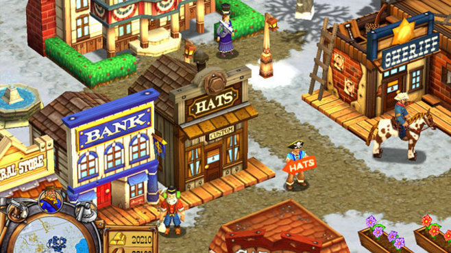 Westward III: Gold Rush Screenshot 3