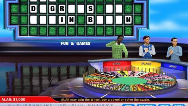 Wheel of Fortune Deluxe Screenshot 1