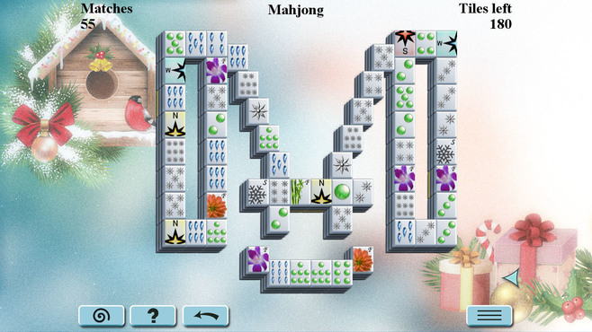 Winter Mahjong Screenshot 1