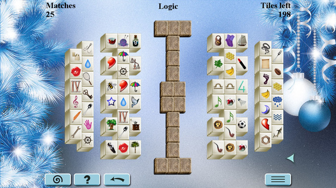 Winter Mahjong Screenshot 2