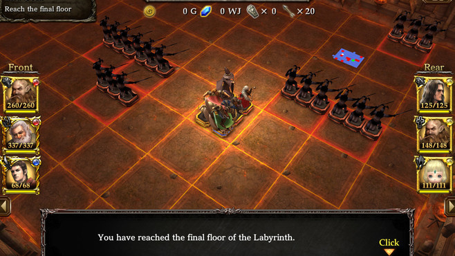 Wizrogue - Labyrinth of Wizardry Screenshot 2