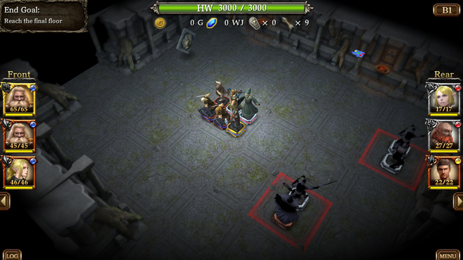 Wizrogue - Labyrinth of Wizardry Screenshot 5
