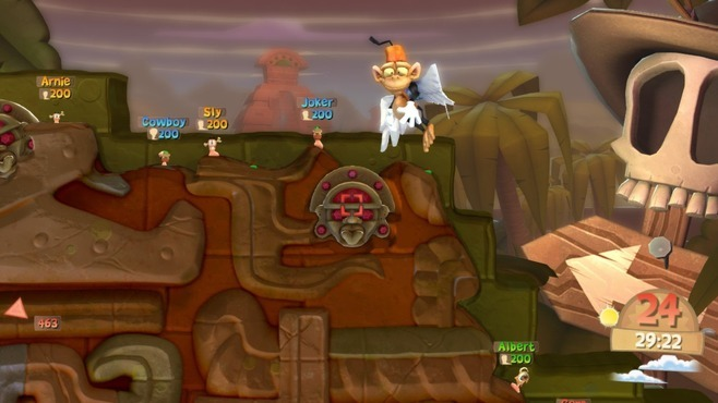 Worms Clan Wars Screenshot 1
