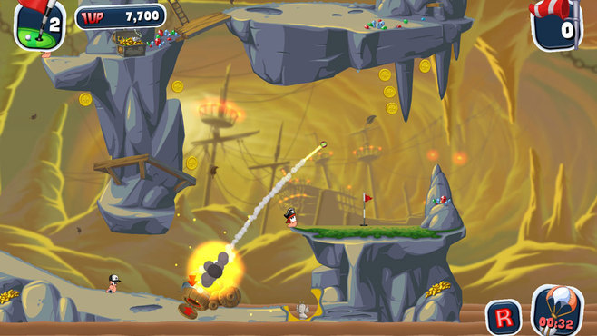 Worms Crazy Golf Screenshot 7