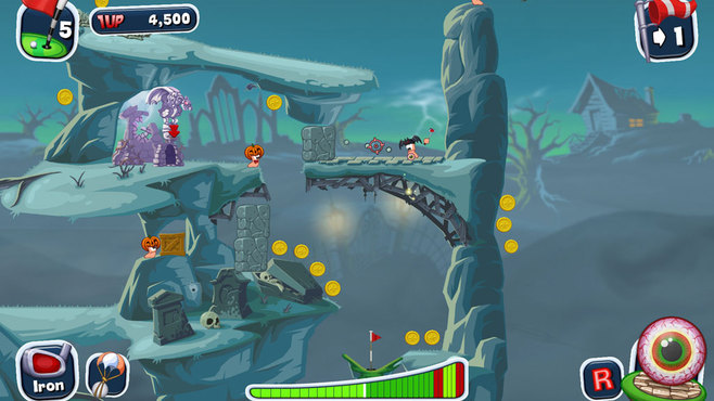 Worms Crazy Golf Screenshot 8