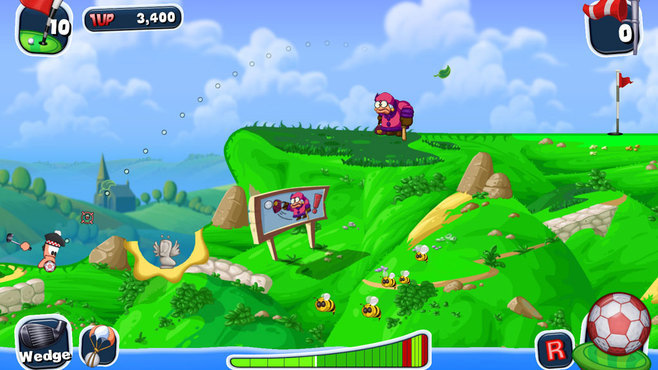 Worms Crazy Golf Screenshot 11