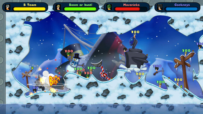 Worms Special Edition Screenshot 2