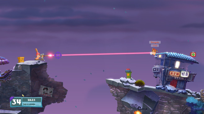 Worms W.M.D. Screenshot 1