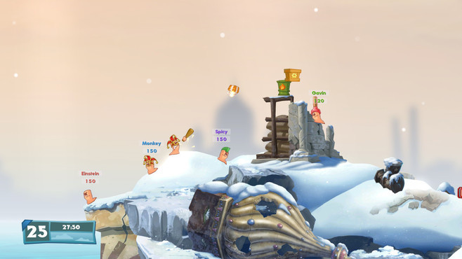 Worms W.M.D. Screenshot 2