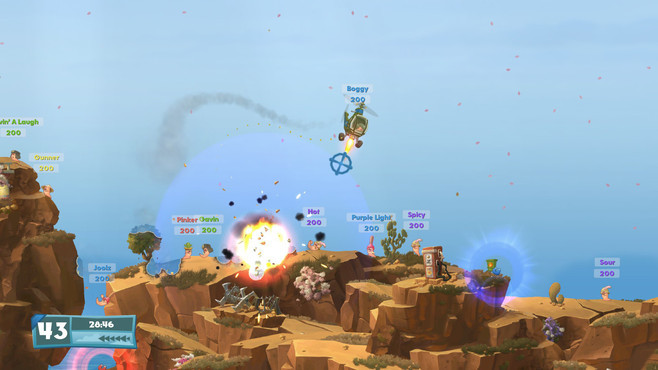 Worms W.M.D. Screenshot 5