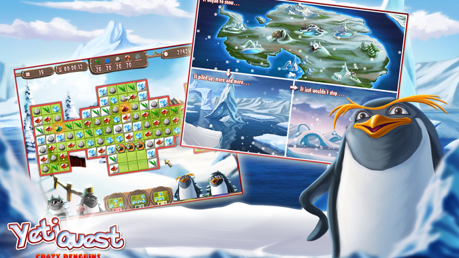 Yeti Quest – Crazy Penguins Screenshot 2