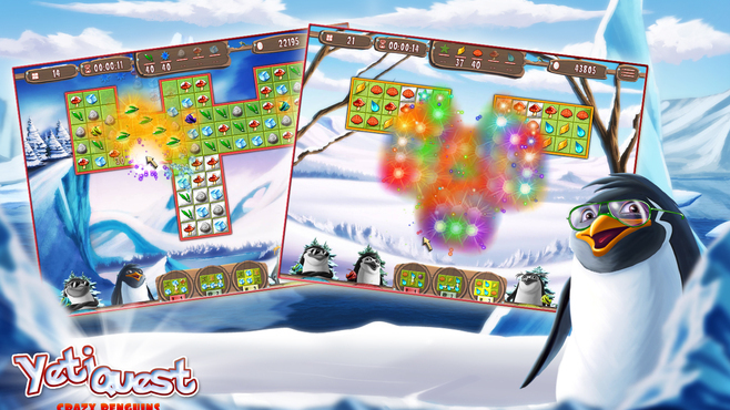 Yeti Quest – Crazy Penguins Screenshot 3
