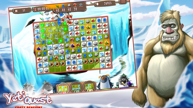 Yeti Quest – Crazy Penguins Screenshot 4