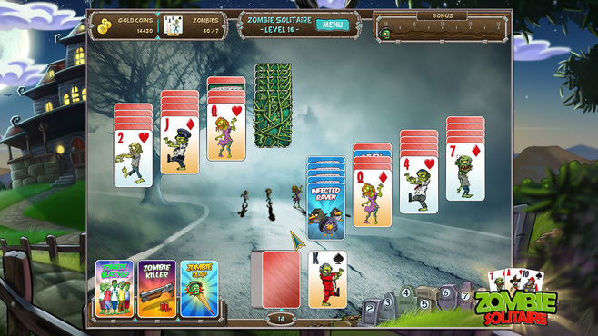 Zombie Solitaire Screenshot 4