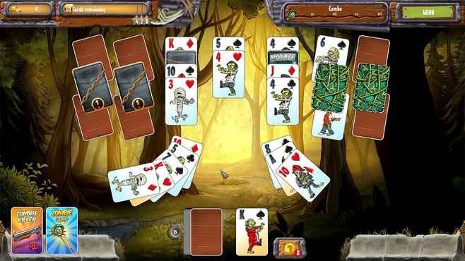 Zombie Solitaire 2 Chapter One Screenshot 2