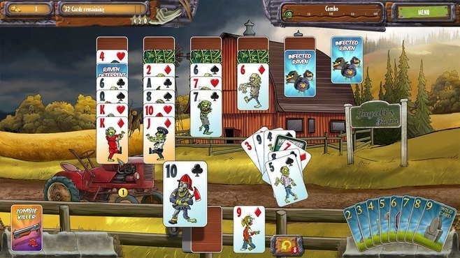 Zombie Solitaire 2 Chapter One Screenshot 4