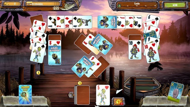 Zombie Solitaire 2 Chapter One Screenshot 5