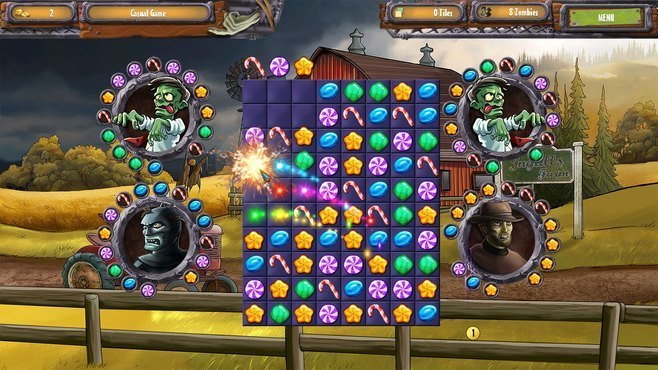 Zombie Solitaire 2 Chapter One Screenshot 7