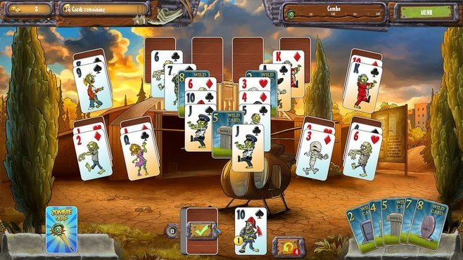Zombie Solitaire 2 Chapter One Screenshot 8